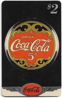 USA - Sprint - Coke National '96 (SILVER VALUE) - SBI-1123 - Advert. #12, Remote Mem. 2$, 4.050ex, Used - Vereinigte Staaten