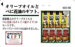 Japan, 110-016, Food, 105 Units, Ajinomoto Food, Olive Oil, Grapeseed Oil, Advertising - Japan