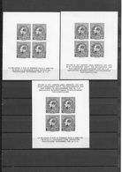 3  BLOCS  F.I.P.   -      2  FR  +  1 N  SANS GOMME  -  ZONDER GOM - 1929-1941 Grand Montenez