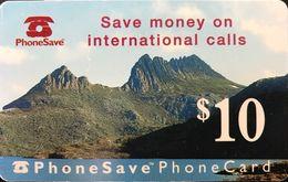 AUSTRALIE  -  Prepaid  -  PhoneSave  -   $ 10 - Australia