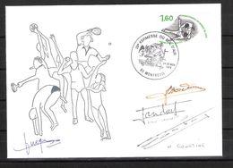 ENVELOPPE 29ème KERMESSE DU BOL D AIR 1979  / DÉDICACES D ALAIN LANDART Et HENRI COURTINE ..judokas Français - Kampfsport
