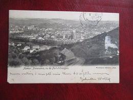 CPA BELGIQUE NAMUR PANORAMA VU DU FORT D'ORANGES - Namur