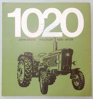 DÉPLIANT COMMERCIAL TRACTEUR JOHN DEERE 1020 PROSPECTUS - Tracteurs