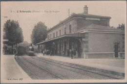 L'Arbresle , Train En Gare , Animée - L'Arbresle