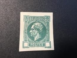 Belgium.Leopold L **. Proefdruk MNH.Ongetand. - Proofs & Reprints