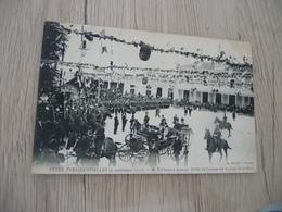CPA 74 Haute Annecy Fêtes Présidentielles 05/09/1910 Mr Fallières à Annecy Défilé.... - Annecy