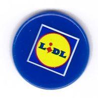 Jeton De Caddie En Plastique - Lidl - Supermarché - Trolley Token/Shopping Trolley Chip