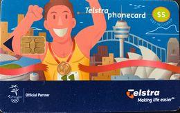 AUSTRALIE  -  Phonecard  -  TELSTRA  -  $ 5 - Australia