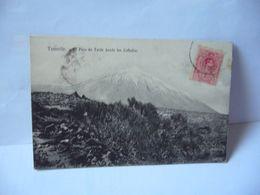 TENERIFE EL PICO DE TEIDE DESDE LAS CAFIADAS ESPANA ESPAGNE ISLAS CANARIAS CPA 1914 NOBREGA'S ENGLISH BAZAR MO 5 - Tenerife