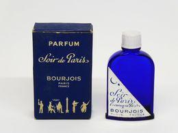 """Rare Miniature De Parfum - BOURJOIS """"Soir De Paris - Evening In Paris"""" Ancienne 5,8cm - Parfums"""