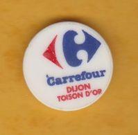 Jeton De Caddie En Plastique - Carrefour Dijon Toison D'Or (21) - Supermarché - Jetons De Caddies