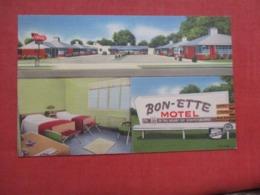 Motel Bon Ette Statesboro  Georgia   Ref 4219 - Etats-Unis