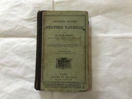 FèLIX HEMENT PREMIERES NOTIONS D'HISTOIRE NATURELLE ZOOLOGIA 1889 - Oude Boeken