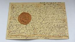 CPA Ancienne , ART NOUVEAU   , Gaufrée , Relief  , Médaillon  . - Illustrateurs & Photographes