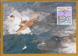 Protection Of Nature. Marine Pollution. Pollution At Sea. Naturschutz. Meeresverschmutzung.  Mariene Vervuiling.Pollutin - Protección Del Medio Ambiente Y Del Clima