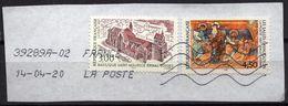 France 1997 2 V Used Basilique Saint-Maurice à EPINAL, Les Salles-Lavauguyon La Création Fresque église Saint-Europe - Christianisme