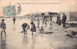 PORNICHET  - La Plage Du Vieux Pornichet ...tres Animée - Pornichet