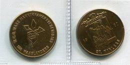 1980 - Sint Niklaas - 100 Waaslander -  Token - Penning - Méraux De Communes - Nr 12 A - Jetons De Communes