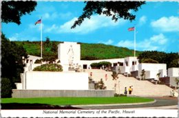 Hawaii Oahu National Cemetery Of The Pacific Gardens Of The Missing - Oahu