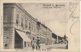 1903 - BELGRAD , Gute Zustand, 2 Scan - Serbia