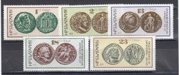 Bulgaria 1977 - Antique Coins, Mi-Nr. 2562/66, MNH** - Ungebraucht