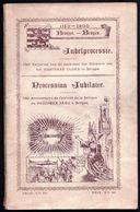 LIVRET BRUGES 1900 ** PROCESSION JUBILAIRE 750e ANNIVERSAIRE DE L'ARRIVEE DU SAINT SANG A BRUGES - JUBELPROCESSIE - RARE - Dépliants Touristiques
