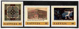 Latvia 2011 .My Stamp. Museums. 3v: 35, 55, 60.   Michel # 811-13 - Lettonie