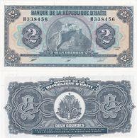 Haiti - 2 Gourdes 1990 UNC P. 254a Lemberg-Zp - Haiti