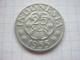 Indonesia , 25 Sen 1955 - Indonésie