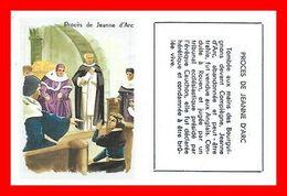 3 CHROMOS. Histoire. Jeanne D'Arc Son Procès / Sur Le Bûcher / Mort De Jeanne D'Arc à Rouen...L158 - Artis Historia