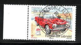 France 2020. Fête Du Timbre. Peugeot 204 Cabriolet.Cachet Rond.Gomme D'origine. - France