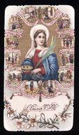 RARO SANTINO -  S. LUCIA VERGINE E MADRE - HOLY CARD - IMAGE PIEUSE ( H454 ) - Devotion Images