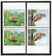 Latvia 2011 . Birds Of Latvia. 2v: 35, 98.  Michel # 816-17 Do-Du - Lettonie