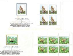 Latvia 2011 . Birds Of Latvia. 2 Booklet.  Michel # 816-17  MH - Lettonie