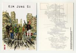 Kim Jung Gi. Bande Dessinée Coréenne. Visuel Urban Scene, Armes, Weapons, Gang, Yakuza, Mafia... Comics Fumetti BD - Bandes Dessinées