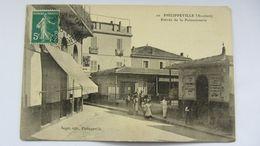 PHILIPPEVILLE (Algérie) , Entrée De La Poissonerie , Correspondance  Zouaves. - Escenas & Tipos