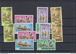 Togo Michel Cat.No. Mnh/** 976/981 A/B  + Shhet 76 - Togo (1960-...)