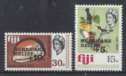 "FIJI..ELIZABETH II.(1952-NOW.).."" 1972.."".......HUMAN RELIEF...GOLDEN COWRIE SHELL & SUN BIRDS......SG476-7.....MNH... - Fidji (1970-...)"