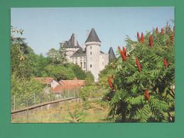 16 Verteuil Chateau ( Arbre Sumac Vinaigrier ) - Castillos