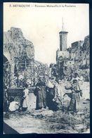 Cpa Du Liban Beyrouth Femmes Metwallis à La Fontaine    AVR20-88 - Lebanon