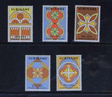 Suriname, 1982, Easter, MNH, Michel 978-982 - Surinam