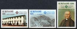 Suriname, 1982, Missionaries In The Caribbean, MNH, Michel 1002-1004 - Surinam