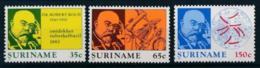 Suriname, 1982, Robert Koch, Tuberculosis, MNH, Michel 990-992 - Surinam