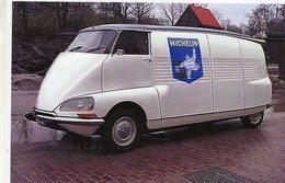 Citroen DS19 'Speciale Utilitaire'  -  Publicité Pour Le Marque 'Michelin'   -  15x10 PHOTO - Passenger Cars