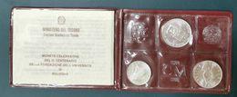 ITALIA 1988 UNIVERSITA' DI BOLOGNA TRITTICO FDC - Sets Sin Usar &  Sets De Prueba
