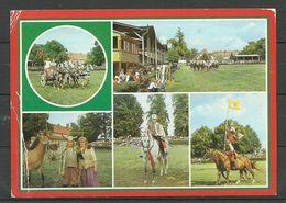Deutschland DDR NEUSTADT Dosse Kr. Kyritz Pferdetage  Gesendet 1995 Nach Estand, Mit Briefmarke - Neustadt (Dosse)