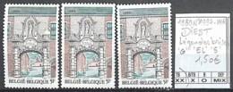 [850715]TB//**/Mnh-Belgique 1980 - N° 1997-VAR, DIEST, Légendes Brisée 'G' 'EL' '5' - Variétés Et Curiosités