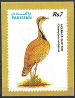 USED POSTCARD BIRD HOUBARA BUSTARD - Kenia