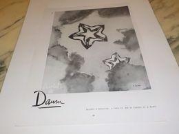 ANCIENNE PUBLICITE   CRISTAL DE DAUM 1955 - Altri