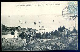 Cpa Du 22  Ile De Bréhat Les Régates Bateaux En Course --  Près Paimpol  AVR20-88 - Ile De Bréhat